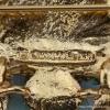 Swoboda スワボダ-天然石グリーン・ライオン・ヴィンテージ・ブローチ(ロゴ刻印)