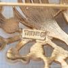 Trifari トリファリ-ゴールドパールの実と雫小枝ブローチ(ロゴ刻印)