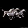 スターリング・シルバー925−アンティーク・馬ブローチ