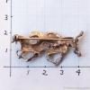 スターリング・シルバー925−アンティーク・馬ブローチ(サイズ)